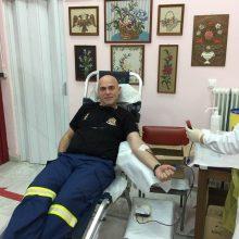 "kozan.gr: O Διοικητής της Πυροσβεστικής Υπηρεσίας Πτολεμαΐδας Χρήστος Σπυρίδης στέλνει το μήνυμα: """"Μένουμε Σπίτι"" αλλά προσφέρουμε και στο κοινωνικό σύνολο – Δώστε αίμα, σώζει ζωές"""
