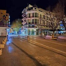 kozan.gr: Βράδυ Σαββάτου 28/3, ώρα 21:00 – Φωτογραφίες από τον κεντρικό πεζόδρομο – πλατεία της Κοζάνης