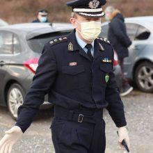 "kozan.gr: Το μήνυμα του Αστυνομικού Διευθυντή, της Διεύθυνσης Αστυνομίας Κοζάνης,  Σ. Διόγκαρη, μετά τη σημερινή σύσκεψη στη Νεάπολη του Δήμου Βοΐου, παρουσία του Υφυπουργού  Πολιτικής Προστασίας, Ν. Χαρδαλιά: """"Θα δώσουμε κι αυτήν τη μάχη μαζί με τους άξιους συνεργάτες μου και στο τέλος θα νικήσουμε και αυτόν τον ""αόρατο εχθρό"". Αρκεί εσείς να μείνετε σπίτι… Και να έχετε πάντα κατά νου ότι είμαστε δίπλα σας"""