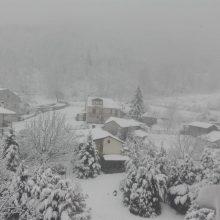 kozan.gr: Ώρα 17.00: Πυκνή χιονόπτωση, αυτή την ώρα, στη Φλώρινα  (Φωτογραφίες)