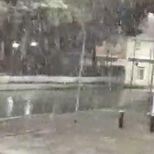 kozan.gr: Ώρα 21:10 – 21:30:  Η κατάσταση στους δρόμους της Κοζάνης (Βίντεο)