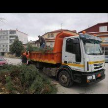 Εργασίες απομάκρυνσης των επικίνδυνων κλαδιών από δένδρα, που έσπασαν από την χιονόπτωση, ξεκίνησε ο Δήμος Εορδαίας