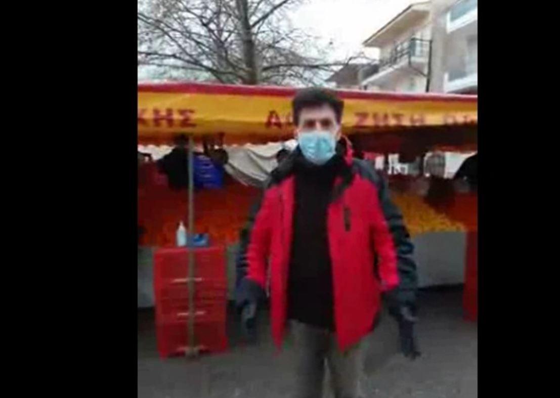 Ώρα 07:00 π.μ.: Σημερινές εικόνες από τη λαϊκή αγορά της Κοζάνης – Τι λένε οι παραγωγοί (Βίντεο)