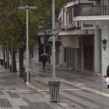 kozan.gr:  Αυτή ήταν η εικόνα στο κέντρο της Κοζάνης, το πρωί του Σαββάτου 4/4, γύρω στις 09:00 (Βίντεο)