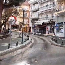kozan.gr: Σημερινές (6/4) εικόνες από διάφορα σημεία της Πτολεμαΐδας (Βίντεο)