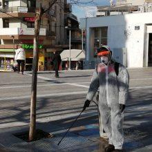 kozan.gr: Ξεκίνησαν απολυμάνσεις – με ψεκασμούς – στην κεντρική πλατεία Κοζάνης και θα συνεχιστούν – επεκταθούν και σε δρόμους της πόλης (Φωτογραφίες)
