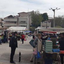 """Λειτουργία της Λαϊκής Αγοράς Πτολεμαΐδας την Τετάρτη 16/9: """"Είναι ΥΠΟΧΡΕΩΤΙΚΗ η χρήση μη ιατρικής μάσκας από το προσωπικό των πωλητών και τους καταναλωτές/κοινό"""""""