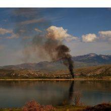 Εναέριες εικόνες: Θερίζει την ορνιθοπανίδα της Βεγορίτιδας η διαχρονική καύση καλαμιώνων