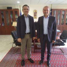 kozan.gr: To νέο Εκτελεστικό Γραμματέα της Περιφέρειας Δυτικής Μακεδονίας Αντ/γο εν αποστρατεία Γρηγοριάδη Γρηγόριο, ανακοίνωσε, μέσω facebook, ο Περιφερειάρχης Δ. Μακεδονίας Γ. Κασαπίδης, δημοσιεύοντας και σχετική φωτογραφία