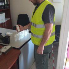 Δήμος Κοζάνης: Ευχαριστήριο για τη δωρεά αντισηπτικών στο Τμήμα Καθαριότητας