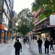 kozan.gr: Ώρα: 20.10: Φωτογραφίες από τον κεντρικό πεζόδρομο της Κοζάνης