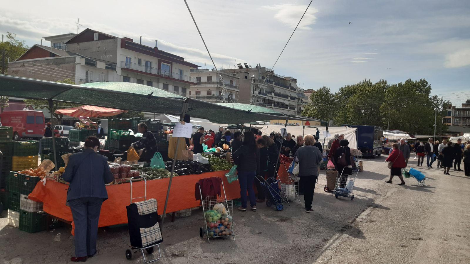 Ενημέρωση για την λειτουργία της λαϊκής αγοράς Πτολεμαΐδας 23-9  – ΥΠΟΧΡΕΩΤΙΚΗ η χρήση μη ιατρικής μάσκας από το προσωπικό των πωλητών και τους καταναλωτές / κοινό