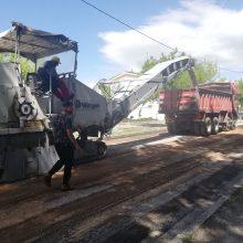 Δήμος Κοζάνης: Αποκατάσταση του οδοστρώματος, καθώς και εργασίες ασφαλτόστρωσης σε οδό παραπλεύρως της εκκλησίας του Αγίου Αθανασίου (Βίντεο & Φωτογραφίες)