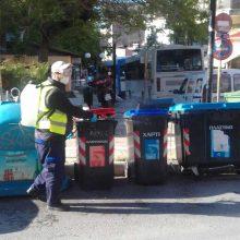 Δήμος Κοζάνης: Συνεχίζονται οι απολυμάνσεις στους κοινόχρηστους χώρους