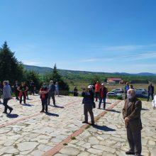 Πραγματοποιήθηκε σήμερα η εκδήλωση για τη Μάχη του Φαρδύκαμπου, που διοργανώθηκε από την ΤΕ Καστοριάς – Βοΐου του ΚΚΕ και των παραρτημάτων ΠΕΑΕΑ – ΔΣΕ Δυτικής Μακεδονίας
