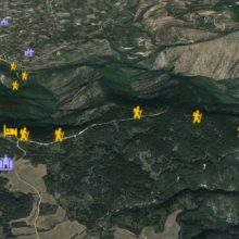 Βίντεο: Δυτικά Πιέρια Διασταύρωση E4 – Ανάβαση Καταφύγιο ΕΟΣ Κοζάνης Λαγομάνα – Κατάβαση Βελβεντό απo κοφτό μονοπάτι