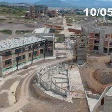 kozan.gr: Σημερινή (10/5),  λήψη, από την ανεγειρόμενη Πανεπιστημιούπολη Δυτικής Μακεδονίας, στη θέση ΖΕΠ, στην Κοζάνη (Βίντεο)