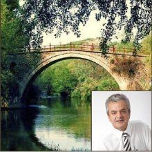 """Μπαίνει """"στο δρόμο του"""" το πετρογέφυρο Ροδοχωρίου -Την δημοπράτηση του έργου «Αποκατάσταση Πετρογέφυρου Ροδοχωρίου» εισηγήθηκε ο Αντιπεριφερειάρχης Π.Ε. Κοζάνης Γρηγόρης Τσιούμαρης"""