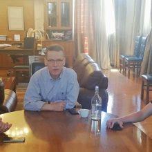 Συνάντηση του δημάρχου Κοζάνης με εκπροσώπους του Φ.Σ. Κοζάνης και της ΑΕΠ Κοζανης