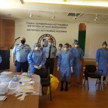 Κινητή Ομάδα Μονάδα Υγείας του Ε.Ο.Δ.Υ., υπό την εποπτεία του Κέντρου Υγείας Κοζάνης, επισκέφθηκε σήμερα το Αστυνομικό Μέγαρο Κοζάνης,
