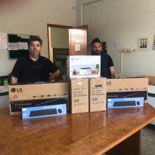 Δωρεά υπολογιστών από το Κουκουλίδειο Ίδρυμα στο ΕΠΑΛ Σιάτιστας