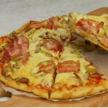 Foodaholics.gr: Ζύμη για πίτσα χωρίς μαγιά με 4 υλικά σε 10 λεπτά