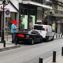 kozan.gr: Πτώση γυναίκας από 2ο όροφο οικοδομής επί της οδού Ξεν. Τριανταφυλλίδη στην Κοζάνη (Φωτογραφίες)
