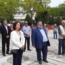 kozan.gr: Πτολεμαΐδα: Πραγματοποιήθηκαν το πρωί της Τρίτης 19/5, στη κεντρική πλατεία, οι εκδηλώσεις μνήμης της Γενοκτονίας των Ελλήνων του Πόντου (Βίντεο & Φωτογραφίες)