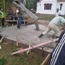 Κοινότητα Λευκοπηγής: Eυχαριστήριο για τις εργασίες στον αύλειο χώρο της εκκλησίας του Αγίου Γεωργίου