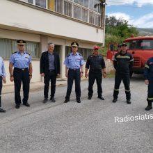 kozan.gr: Σιάτιστα: Ικανοποιήθηκε το αίτημα της Δημοτικής Αρχής – Από σήμερα Παρασκευή,  θα βρίσκεται μόνιμα σταθμευμένο, πυροσβεστικό όχημα, που θα επιτηρεί και θα επεμβαίνει σε περιστατικά πυρκαγιών κι όπου αλλού απαιτείται  (Βίντεο & Φωτογραφίες)