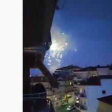 kozan.gr: Ώρα 21:30: Τα πυροτεχνήματα για την Αναστάσιμη Αγρυπνία για την απόδοση του Πάσχα από τον Ι.Ν. Αγ. Στεφάνου Πτολεμαίδας  (Βίντεο)