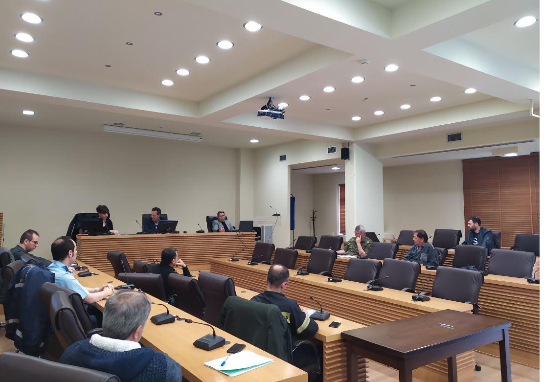 Αντιπυρική περίοδος: Συνεδρίαση του ΣΤΟ Πολιτικής Προστασίας του Δήμου Κοζάνης