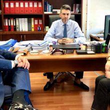 Συνάντηση εργασίας του βουλευτή Κοζάνης Μ. Παπαδόπουλου με τον Γενικό Γραμματέα Επενδύσεων και ΕΣΠΑ κο Δημήτρη Σκάλκο