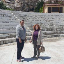 """kozan.gr: """"Αυτοψία"""" στο Ανοιχτό Θέατρο Ποντοκώμης ενόψει των καλοκαιρινών εκδηλώσεων (Φωτογραφίες)"""