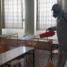 Δήμος Γρεβενών: Σε εξέλιξη η προληπτική απολύμανση των σχολικών μονάδων  για την αποφυγή μετάδοσης του Covid-19