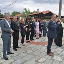kozan.gr: Τελέστηκε, σήμερα Κυριακή 31/5, το ετήσιο Μνημόσυνο υπέρ πεσόντων Μακεδονομάχων, στη μάχη της Οσνίτσανης στη Δαμασκηνιά Βοΐου