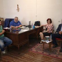 Το Δήμο Εορδαίας επισκέφθηκε το Σάββατο 30 Μαΐου, η Βουλευτής Π.Ε. Κοζάνης Παρασκευή Βρυζίδου