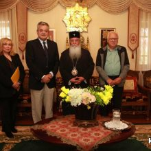 Επίσκεψη του Αντιπεριφερειάρχη ΠΕ Κοζάνης στον Σεβασμιώτατο Μητροπολίτη Σερβίων – Κοζάνης