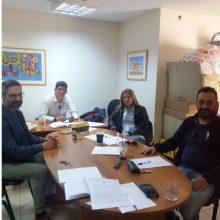 """Συνάντηση μελών της Δημοτικής Κίνησης """"Κοζάνη – Τόπος να ζεις""""  με τον Πρόεδρο και την Διευθύντρια του ΟΑΠΝ"""