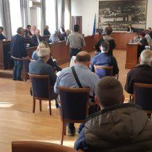 "H Εισήγηση του Δημάρχου Γρεβενών κ.Γιώργου Δασταμάνη στην Έκτακτη Συνεδρίαση του Δημοτικού Συμβουλίου για τις τελευταίες εξελίξεις στο Προσφυγικό Ζήτημα: ""«Τα Γρεβενά δεν θα γίνουν σάκος του μποξ. Είμαστε ο μικρότερος Νομός της Δυτικής Μακεδονίας και ο Δήμος μας σηκώνει το μεγαλύτερο βάρος σε όλη την Περιφέρεια"""