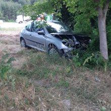 kozan.gr: Κοζάνη (Περιοχή Νιάημερος): Αυτοκίνητο ξέφυγε της πορείας του και προσέκρουσε σε κορμό δέντρου (Φωτογραφίες)