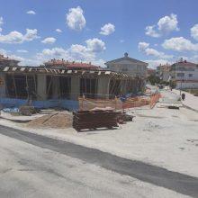 Σε εξέλιξη βρίσκονται οι εργασίες κατασκευής του κτηρίου που θα στεγάσει το 10ο Νηπιαγωγείο Κοζάνης, επί των οδών Ευτέρπης και Απόλλωνος, δίνοντας λύση στο ζήτημα της στέγασης του σχολείου