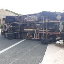 kozan.gr: Τροχαίο ατύχημα στην Εγνατία Οδό στο ρεύμα Κοζάνης – Γρεβενών – Φορτηγό συγκρούσθηκε με βανάκι (Βίντεο & Φωτογραφίες)