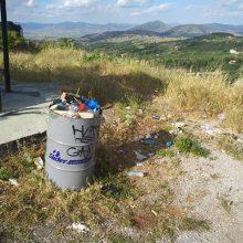 Φωτογραφία & σχόλιο αναγνώστη στο kozan.gr: Σημερινή εικόνα από τον Ψηλό Αϊ – Λιά Κοζάνης
