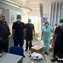 Δωρεά σύγχρονου ιατρικού εξοπλισμού αξίας  20.000 ευρώ στο νοσοκομείο «Μαμάτσειο» και  χορηγία ειδών πρώτης ανάγκης σε οικογένειες στον Πολύμυλο, από την  Enel Green Power
