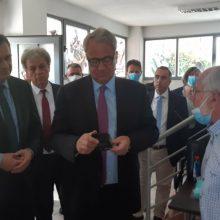 kozan.gr: Στην επιχείρηση αρωματικών φυτών ΔΙΟΣΚΟΥΡΙΔΗΣ Ο.Ε., του Στέργιου Τζιμίκα, στην Αναρράχη Εορδαίας, ξεναγήθηκε, το μεσημέρι της Τρίτης 9/6, ο Υπουργός Αγροτικής Ανάπτυξης και Τροφίμων Μάκης Βορίδης – Εντυπωσιασμένος ο Υπουργός με τα προϊόντα της επιχείρησης (Βίντεο & Φωτογραφίες)