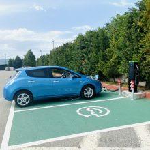 Πτολεμαίδα: Η πρώτη φόρτιση, μετά την εγκατάσταση του σταθμού φόρτισης ηλεκτρικών αυτοκινήτων, στο parking του ξενοδοχείου Παντελίδης