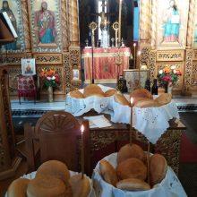 Γιορτάστηκε η Παναγία ''Άξιον εστίν''  στον Ι. Ναό του Αγίου  Διονυσίου εν Ολύμπω στο Βελβεντό, της Ιεράς Μητροπόλεως Σερβίων και Κοζάνης (του παπαδάσκαλου Κωνσταντίνου Ι. Κώστα)