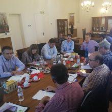 Τηλεθέρμανση: Συνάντηση του συντονιστή του Σχεδίου Δίκαιης Αναπτυξιακής Μετάβασης στη Δυτική Μακεδονία με το δήμαρχο Κοζάνης και στελέχη της ΔΕΥΑ
