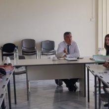 Με τον συντονιστή της Επιτροπής Σχεδίου Δίκαιης Μετάβασης  K.Μουσουρούλη συναντήθηκε το προεδρείο του Εργατικού Κέντρου Ν. Κοζάνης